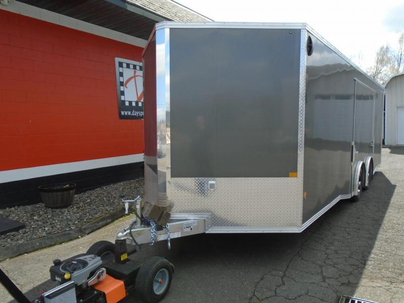 2021 Stealth 8.5X24 ALL ALUMINUM ENCLOSED WITH A ELITE ESCAPE DOOR