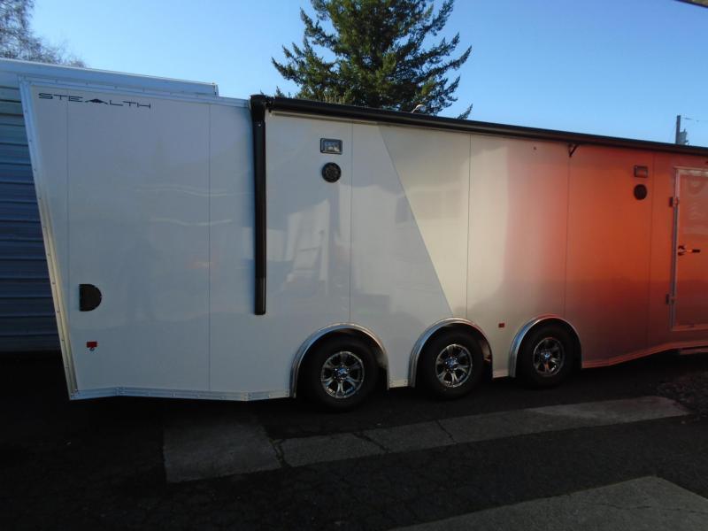 2019 Alcom-Stealth C8.5X28SCH-IF Car / Racing Trailer
