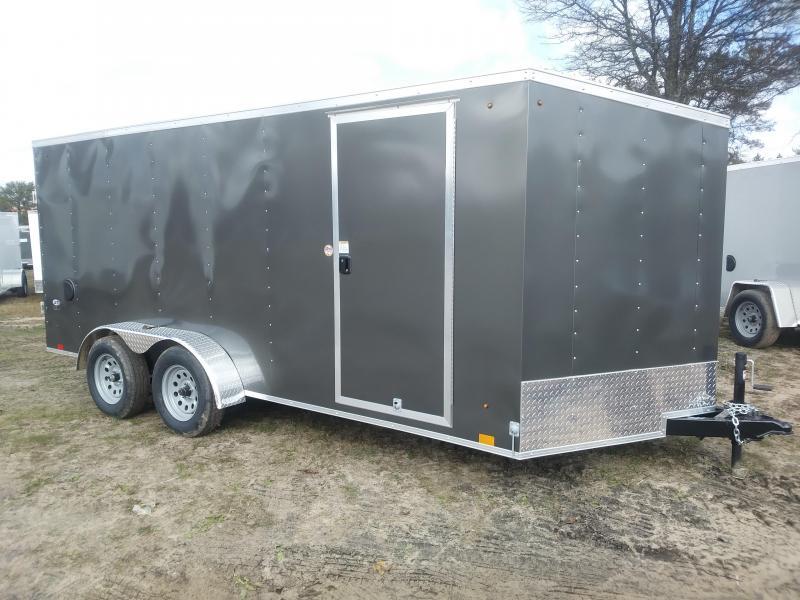 2021 Look Trailers 7 X 16 Enclosed Cargo Trailer