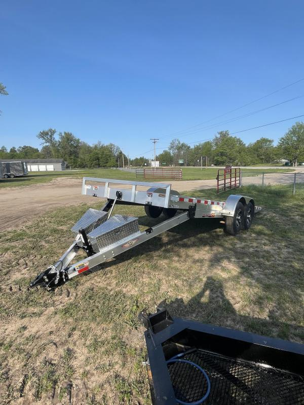 2021 H and H Trailer 83 x 22 Equipment Trailer