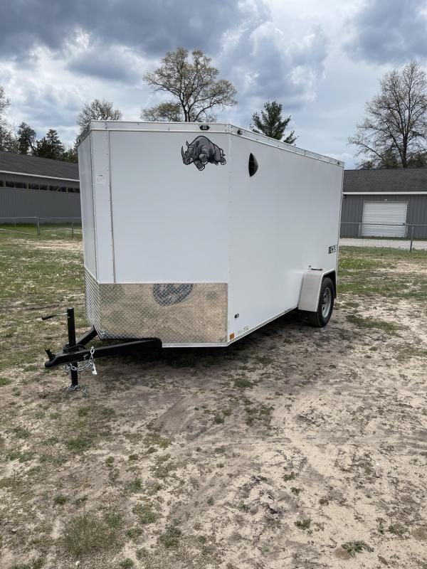 2021 Rhino Trailers 6 x 12 ramp Enclosed Cargo Trailer
