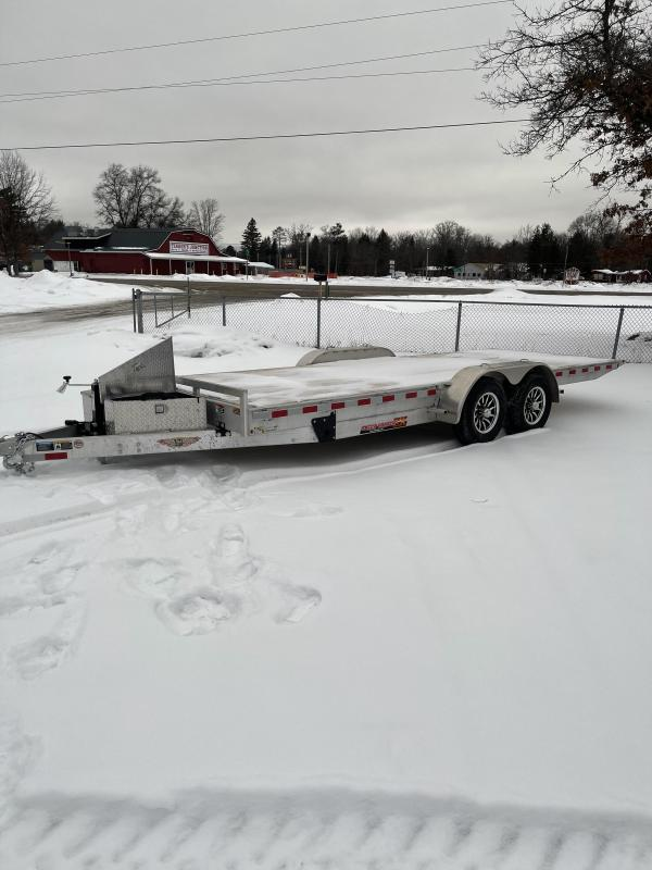 2021 H and H Trailer 82 x 20 10k Car / Racing Trailer