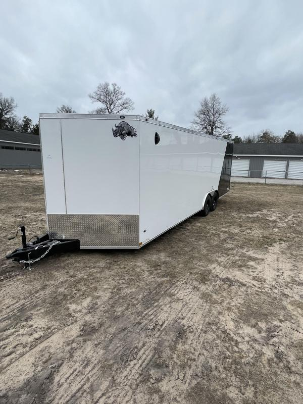 2021 Rhino Trailers 8.5 x 24 ramp Enclosed Cargo Trailer