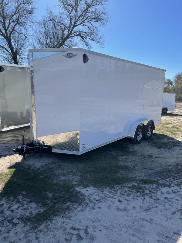 2021 RC Trailers 7 x 18 ramp Enclosed Cargo Trailer