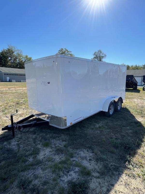2022 Look Trailers 7 x 16 Enclosed Cargo Trailer