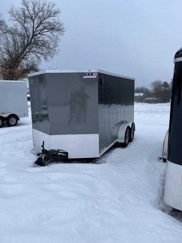 2021 MTI Trailers 7 x 14 Enclosed Cargo Trailer
