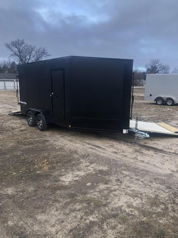 2021 Formula Trailers 7x19 Snowmobile Trailer