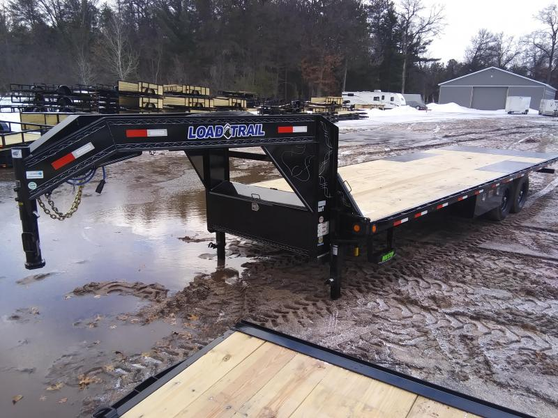 "2021 Load Trail 102"" x 26' 14K Gooseneck Tilt Deck Equipment Trailer"