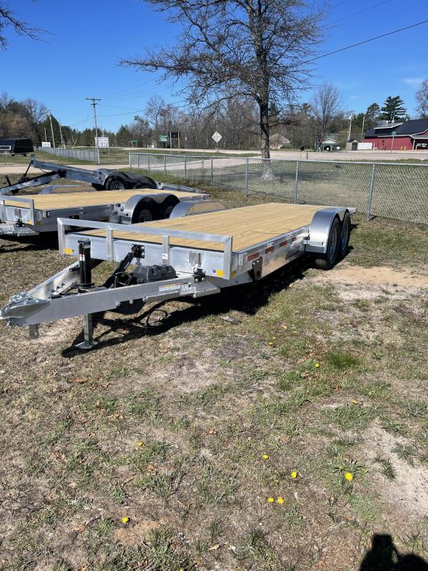2021 RC Trailers 83 x 20 tilt Car / Racing Trailer