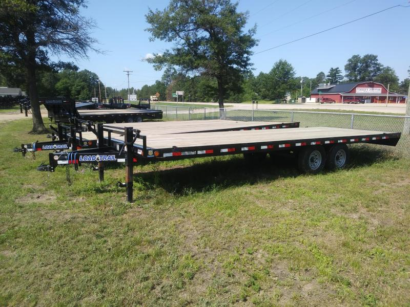 """2021 Load Trail 102"""" X 24' Deck Over Pintle Hook Equipment Trailer"""