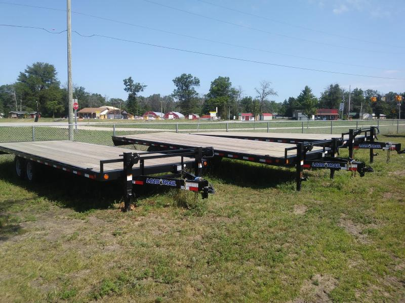 "2021 Load Trail 102"" X 24' Deck Over Pintle Hook Equipment Trailer"
