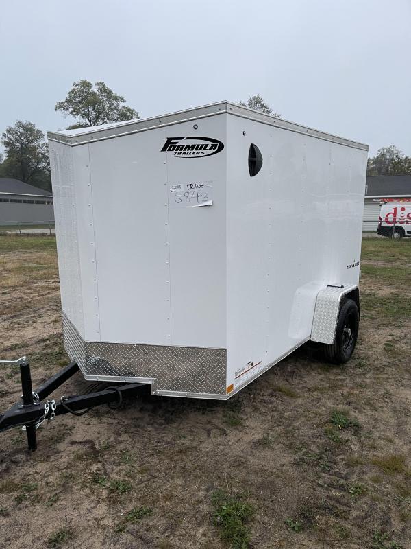 2022 Formula Trailers 6 x 10 Enclosed Cargo Trailer