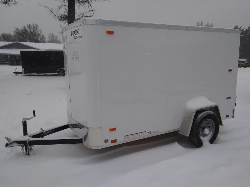 2021 Look Trailers 5 X 10 Enclosed Cargo Trailer