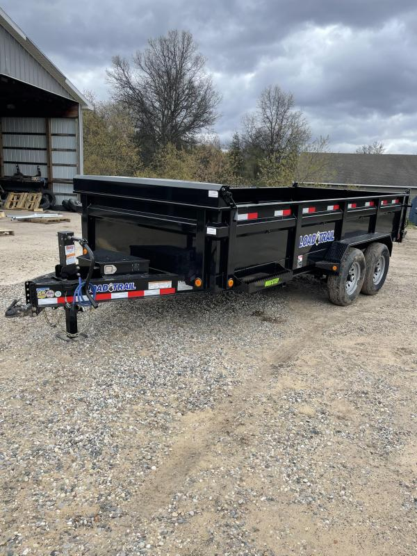 2021 Load Trail 83 x 16 Dump Trailer