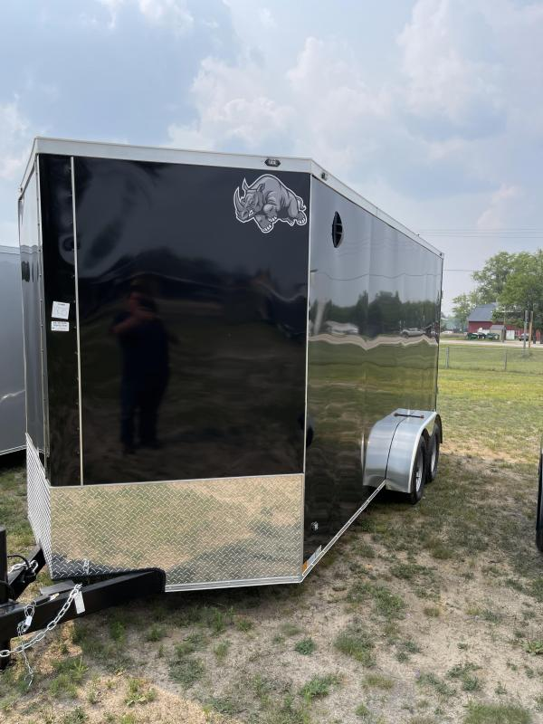 2021 Rhino Trailers 7 x 16 Enclosed Cargo Trailer
