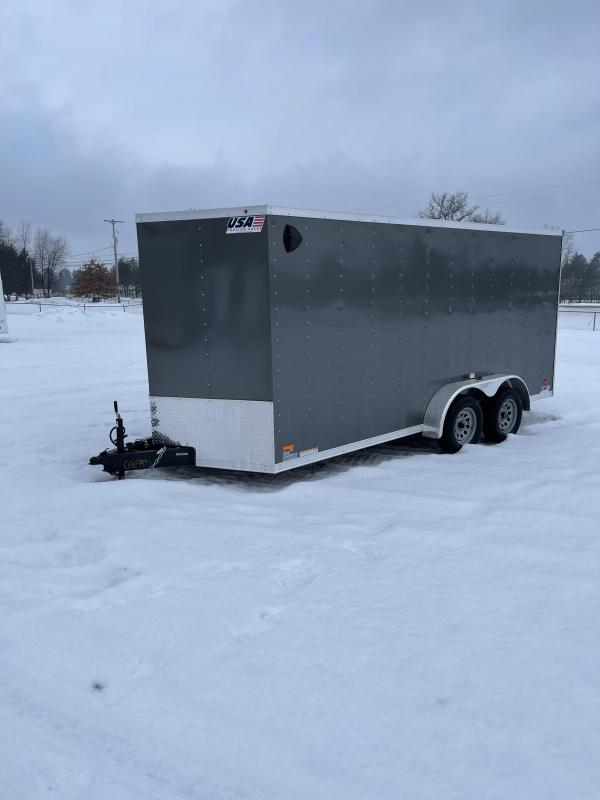 2021 MTI Trailers 7 x 16 Enclosed Cargo Trailer