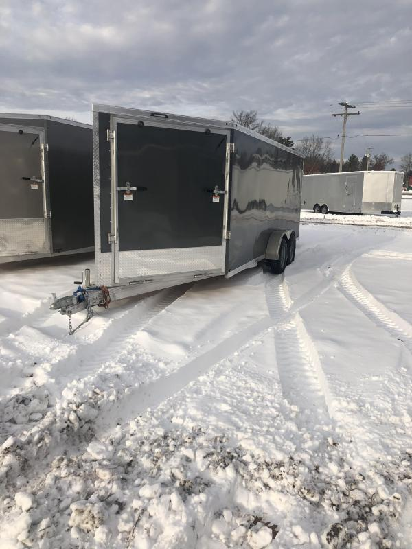 2021 Forest River Inc. 7x23 Snowmobile Trailer