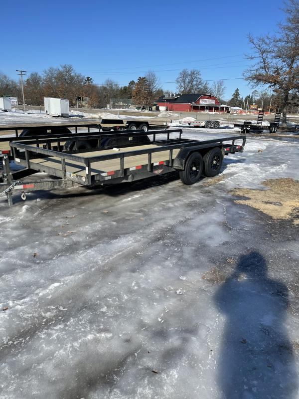 2021 H and H Trailer 82 x 18 Utility Trailer