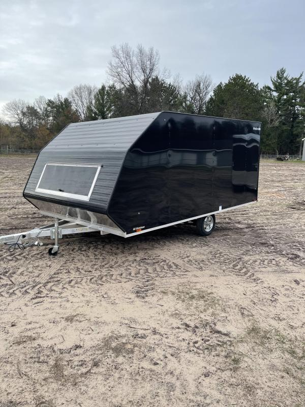 2021 Forest River, Inc. 8.5 x 13 ramp door Snowmobile Trailer