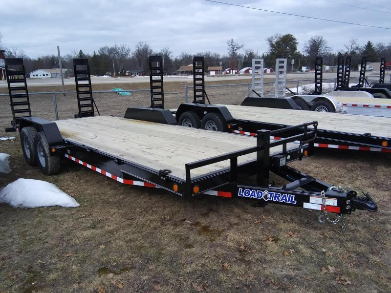 "2020 Load Trail 83"" x 20 14K Equipment trailer"