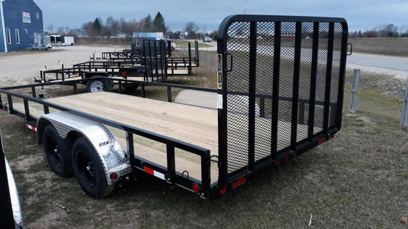 2022 Load Trail 83 x 16 Utility Trailer