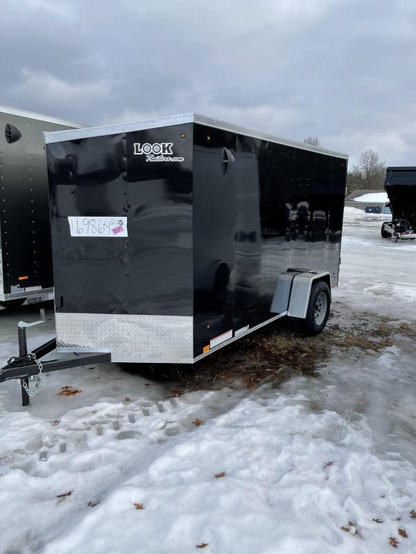 2022 Look Trailers 6 x 12 ramp Enclosed Cargo Trailer