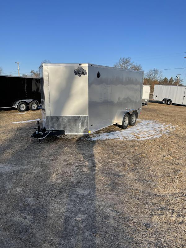 2021 Rhino Trailers 7 x 16 Enclosed Cargo Trailer