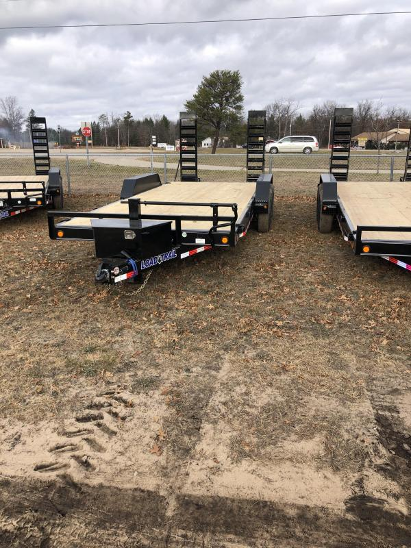 2021 Load Trail 20 foot 14k Equipment Trailer