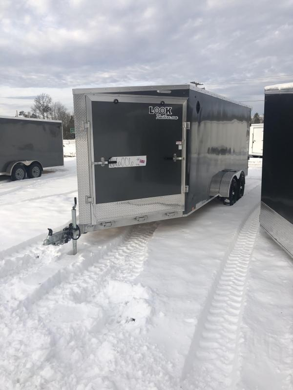 2021 Look Trailers 7x23 Snowmobile Trailer