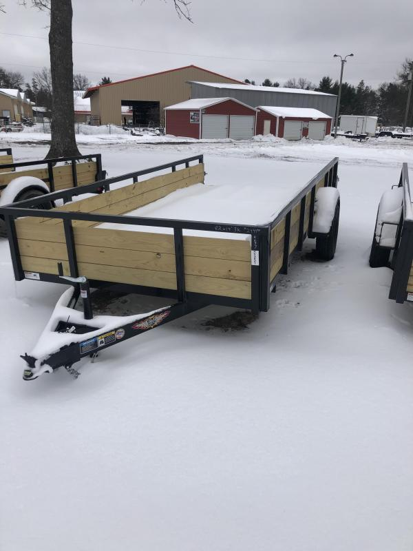 2021 H and H Trailer 82x14 Utility Trailer