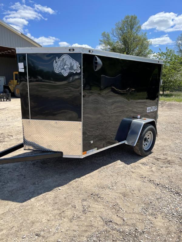 2021 Rhino Trailers 5 x 8 Enclosed Cargo Trailer