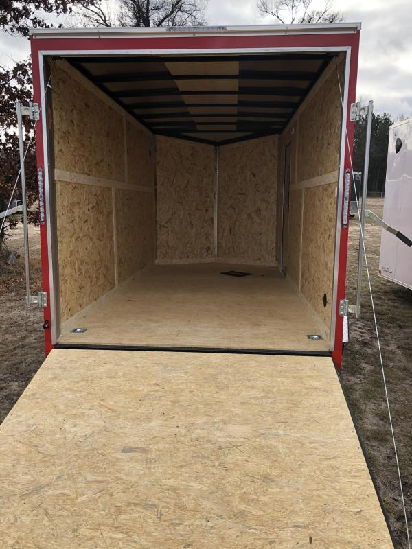 2021 Formula Trailers 7x14 extra height Enclosed Cargo Trailer