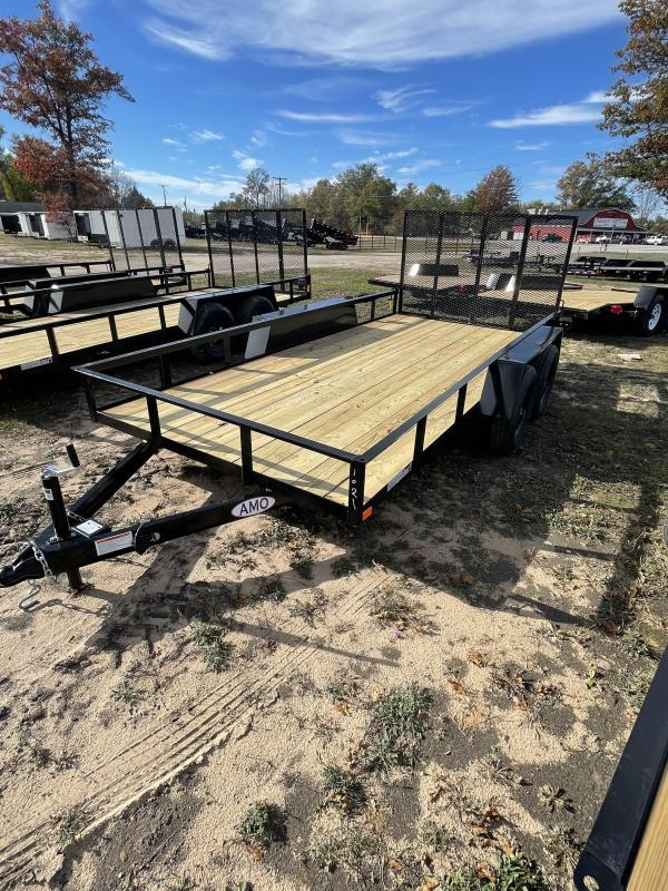 2022 American Manufacturing Operations (AMO) 6.4 x 16 Utility Trailer