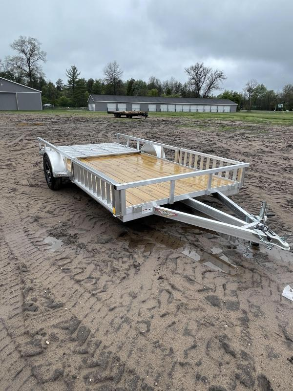 2021 H and H Trailer 82 x 14 Utility Trailer