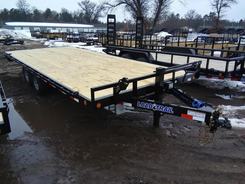"2021 Load Trail 102"" x 20' 14K Deckover Equipment Trailer"
