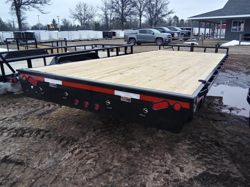 "2021 Load Trail 102"" x 20' 14K Deckover Equipment Trailer"