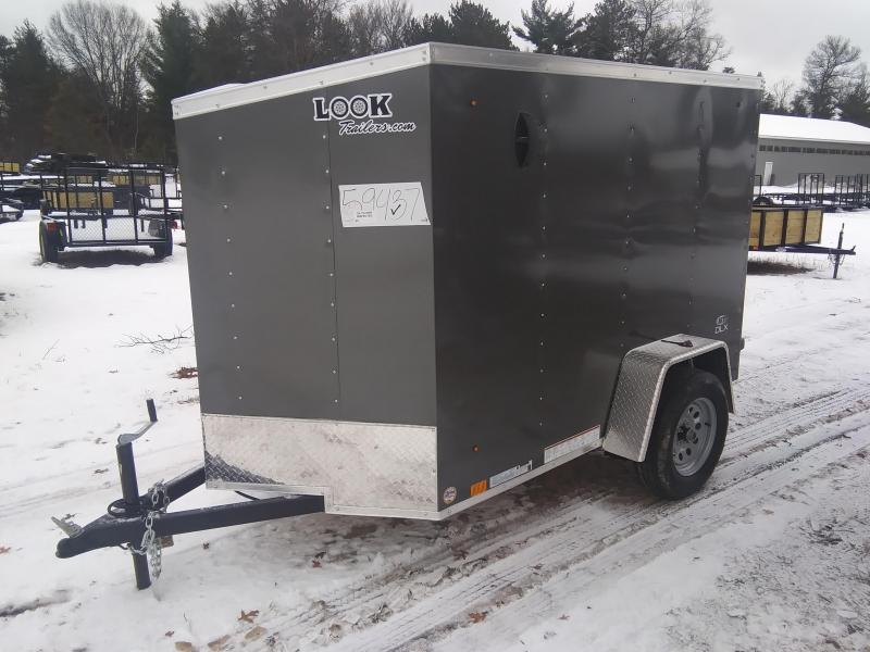 2020 Look Trailers 5 X 8 Enclosed Cargo Trailer