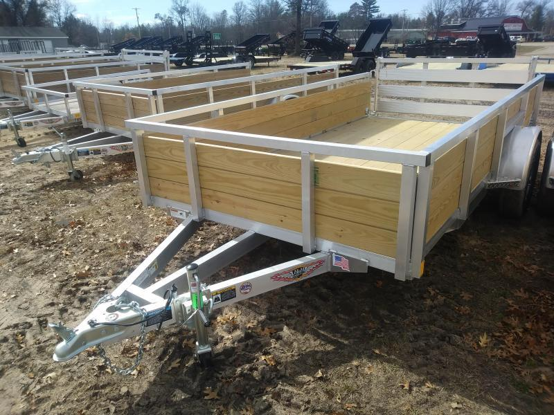 2021 H and H Trailer 6 X 12 WOOD-SIDE ALUM 3K
