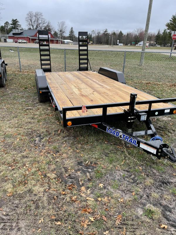 2021 Load Trail 83 x 18 skid Equipment Trailer