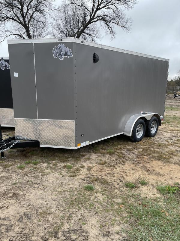 2021 Rhino Trailers 7 x 14 ramp Enclosed Cargo Trailer
