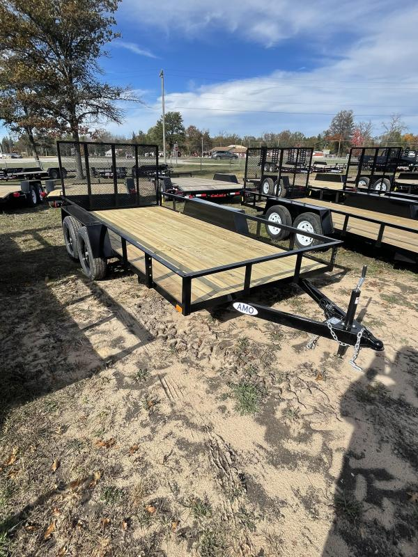 2022 American Manufacturing Operations (AMO) 6 x 14 Utility Trailer