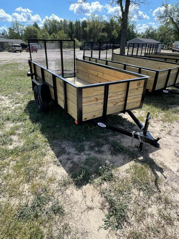 2021 American Manufacturing Operations (AMO) 5 x 10 Utility Trailer