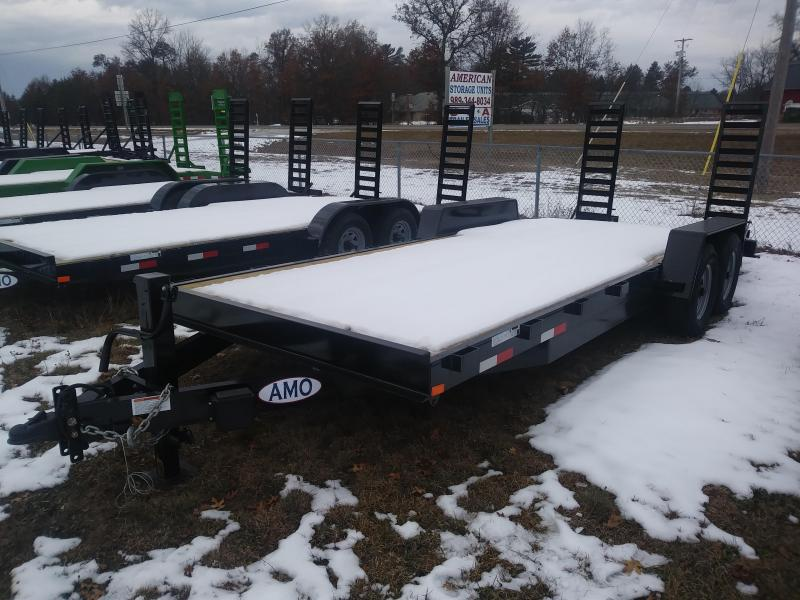 2021 AMO 82 x 20 TA4 Equipment Trailer
