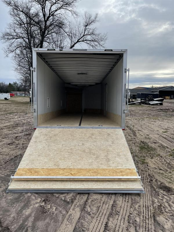 2021 Forest River, Inc. 8.5 x 24 ramp Snowmobile Trailer