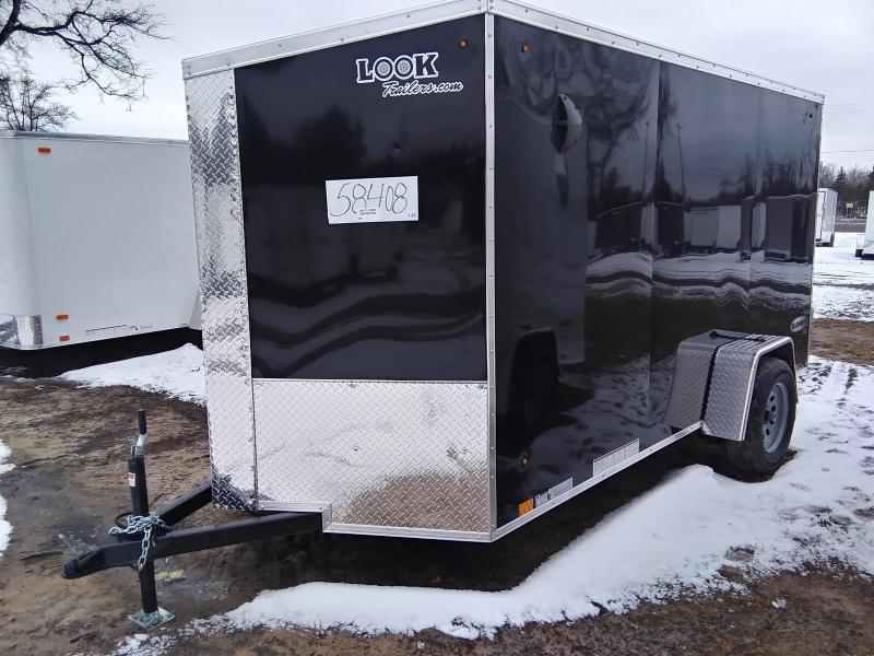 2021 Look Trailers 6 X 12 Enclosed Cargo Trailer