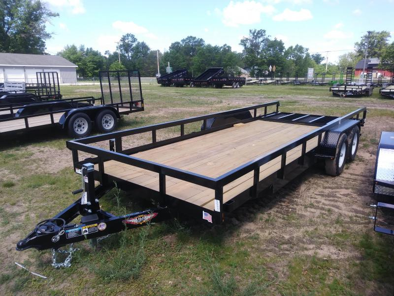 2021 H and H Trailer 82X20 HEAVY TRS 10K