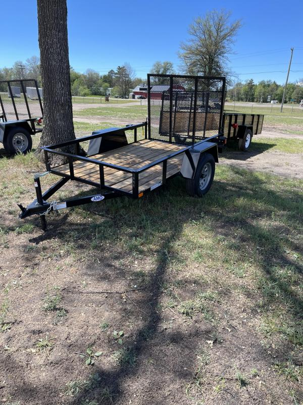 2021 American Manufacturing Operations (AMO) 5 x 8 land Utility Trailer