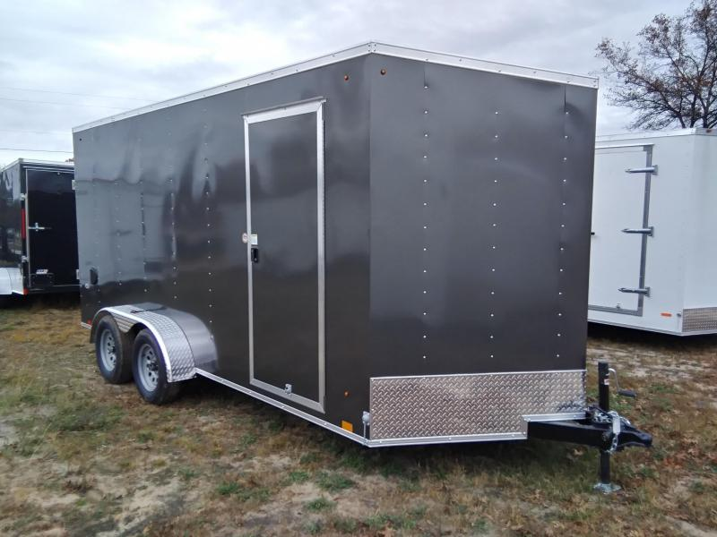 2021 Look Trailers 7 X 16 Enclosed Cargo/ATV Trailer