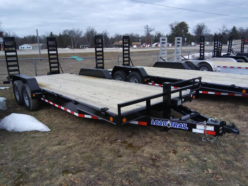 "2021 Load Trail 83"" x 20 14K Equipment trailer"
