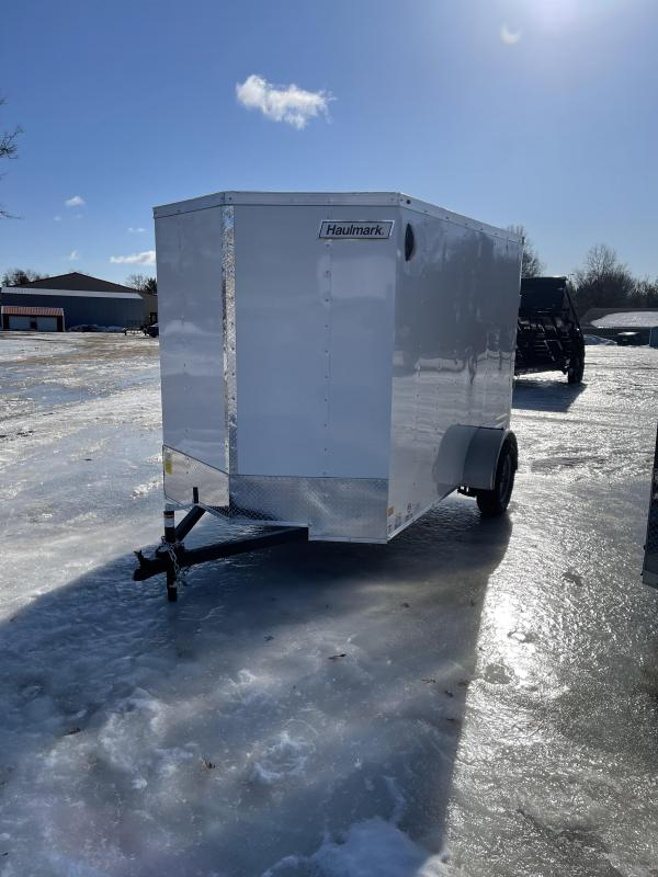 2021 Haulmark 6 x 10 Enclosed Cargo Trailer